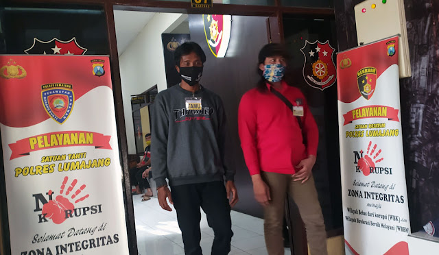 Dua saksi melapor ke Polres Lumajang