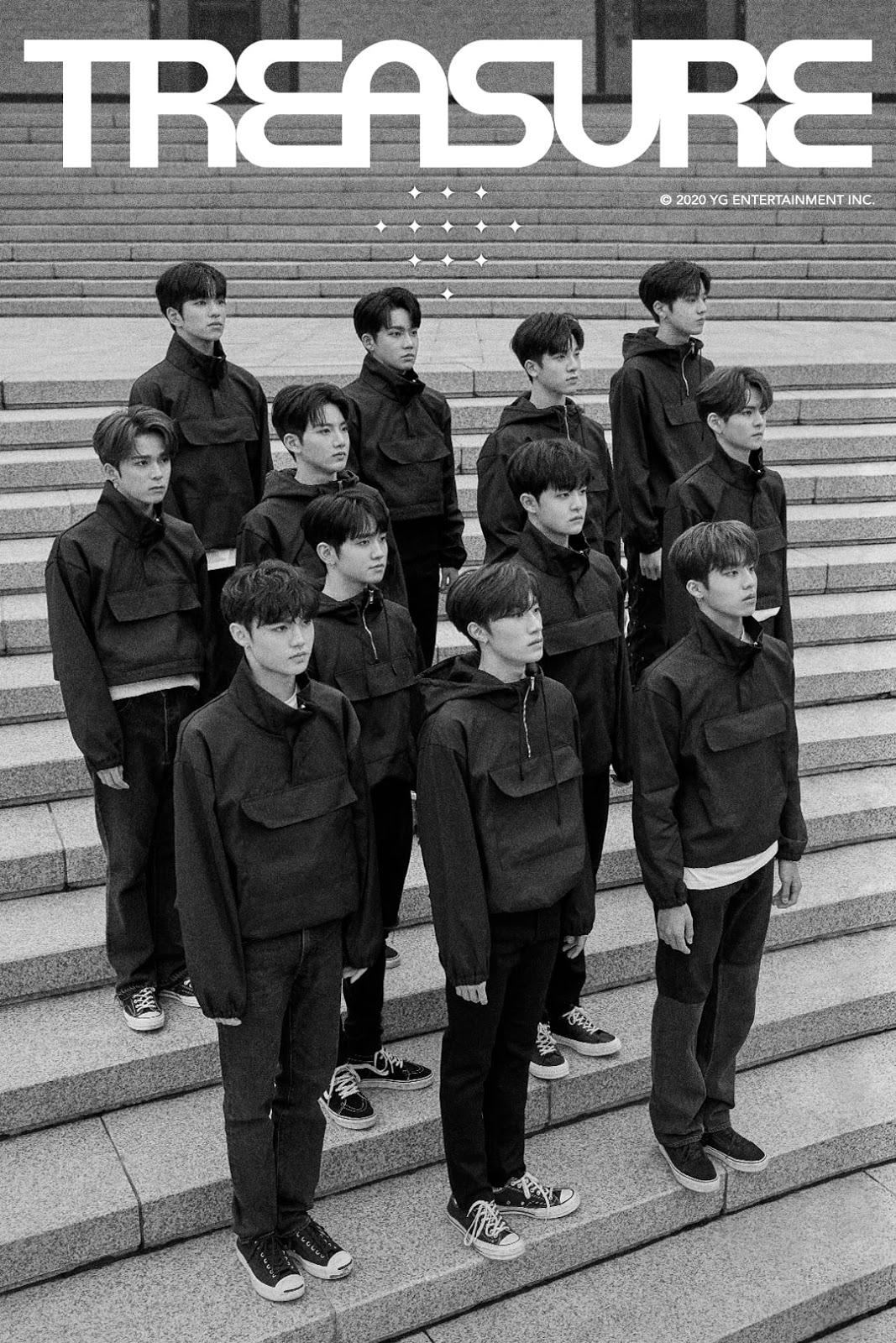 TREASURE', YG Entertainments newest boy group since 2015!