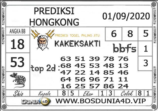 Prediksi Togel HONGKONG DUNIA4D 01 SEPTEMBER 2020