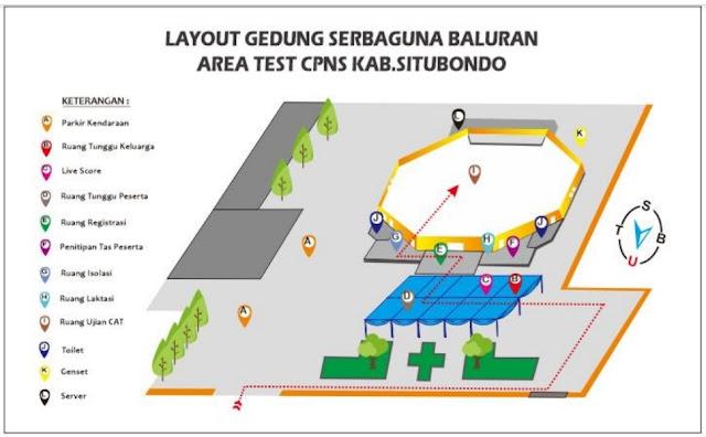 Pembagian Jadwal dan Tempat Tes SKD CPNS 2019 Kabupaten Situbondo