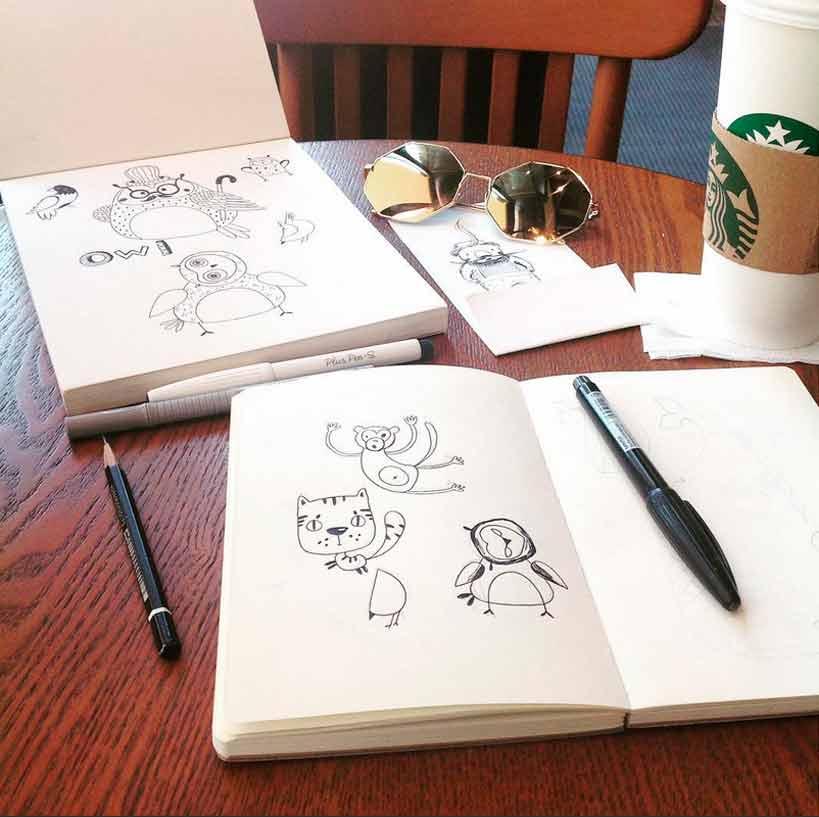 Artist interview, An Keegan, Sonia Nezvetaeva, artist blog