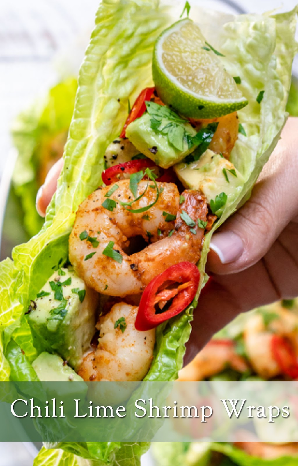 Chili Lime Shrimp Wraps
