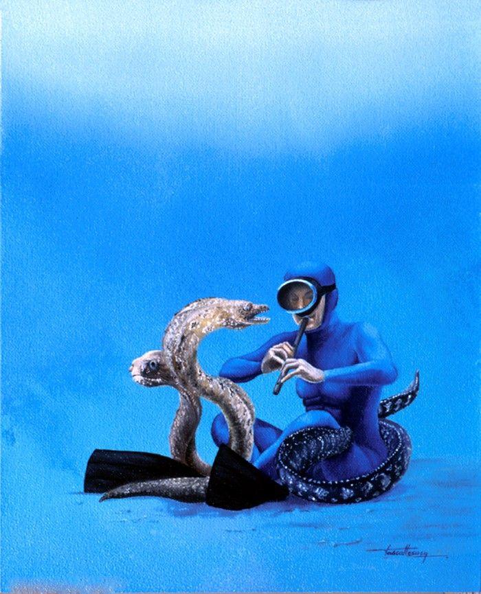 Французский художник. Pascal Lecocq