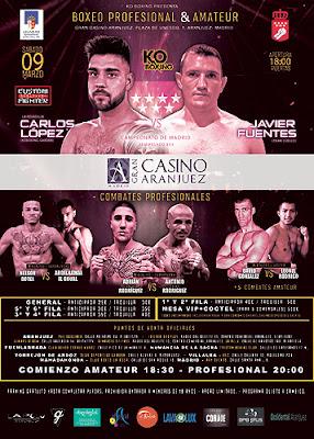 Boxeo Gran Casino Aranjuez
