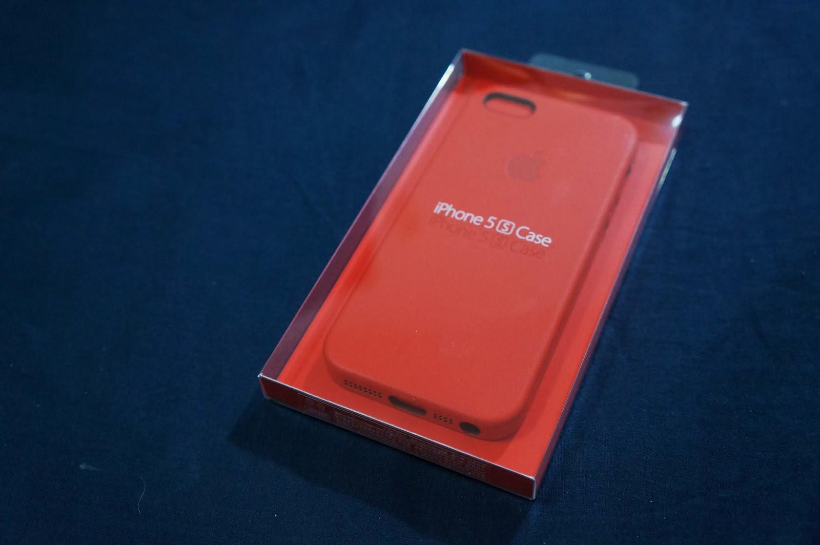 [開箱] iPhone 5s Case - (PRODUCT) RED
