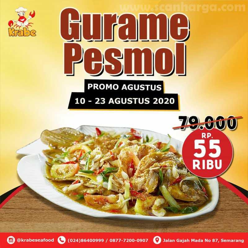 Promo Krabe Seafood Gurame Pesmol