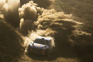 Hyundai Motorsport in Raliul Sardiniei