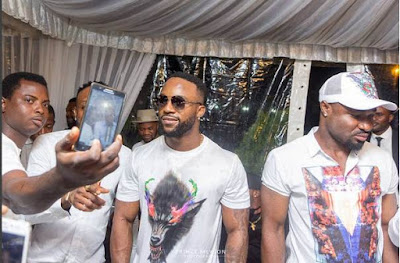 Iyanya birthday.
