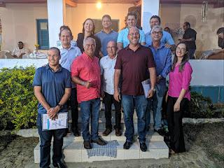 Cocá participa de encontro com prefeitos do Vale do Jiquiriça