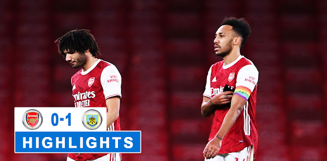 Arsenal vs Burnley – Highlights