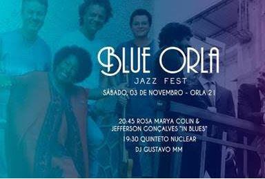 Blue Orla Jazz Fest (03.11) celebrará a última edição de 2018 com Rosa Marya Colin & Jefferson Gonçalves Blues Band