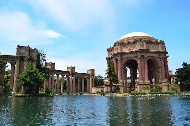 Palace of Fine Arts San Francisco CA