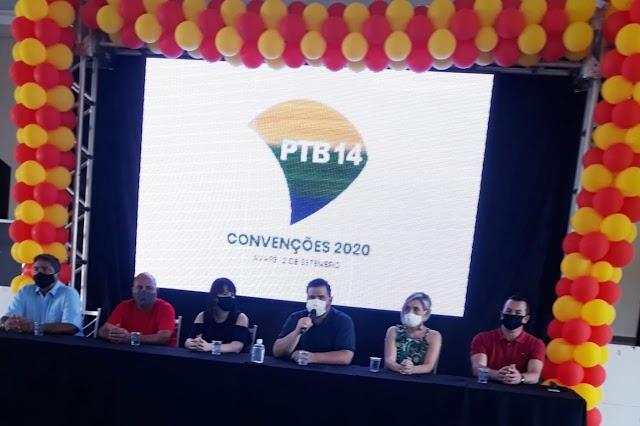 PTB AVARÉ REALIZA CONVENÇÃO COM LANÇAMENTO DA CANDIDATURA JÔ SILVESTRE