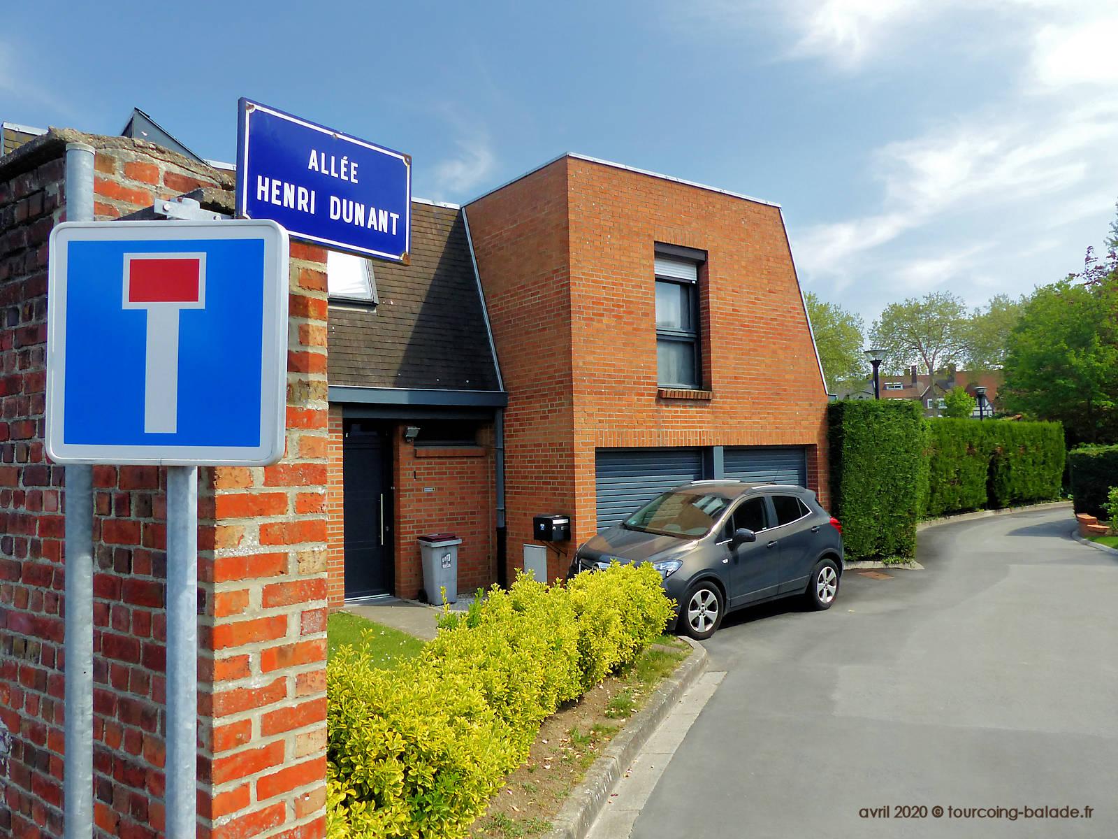 Impasse Dunant, Tourcoing 2020