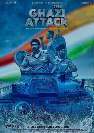 The Ghazi Attack 2017 Full Hindi Movie Download BRRip 720p