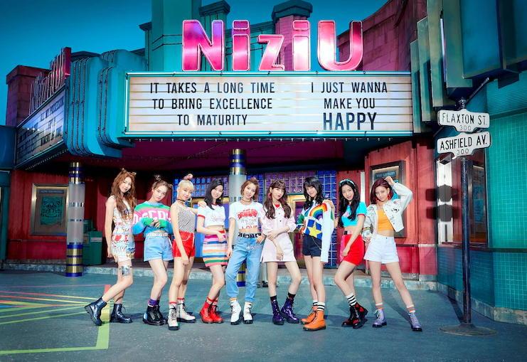 """Dari proses """"Nizi Project"""" Telah lahir Idol Baru """"NiziU"""" Predebut Mini Album """"Make You Happy"""""""