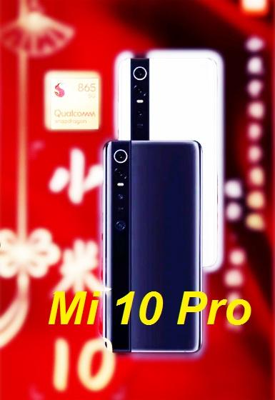تم تسريب بعد صور من الإنترنيت لهاتف Xiaomi Mi 10 Pro 5G سيكون تصميم مشابه لهاتف Mi Mix Alpha حيث  تُظهر الصور شاشة مثقوبة بالإضافة إلى إعداد كاميرا خلفية رباعية.    وقد تم تعميم الصورة المزعومة  Mi 10 Pro على Weibo. تشير الصورة إلى أن الهاتف مع Qualcomm Snapdragon 865 SoC سيظهر لأول مرة في 11 فبراير. وهذا يؤكد صحة شائعة سابقة تطالب بإطلاق سلسلة Mi 10 Pro  في أوائل فبراير. تسريب مواصفات هاتف Xiaomi Mi 10 Pro 5G
