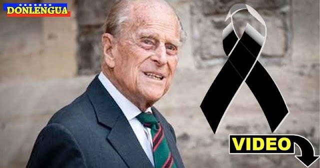 Falleció el Principe de Edimburgo a los 99 años
