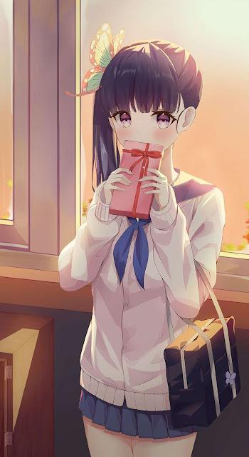 kanao tsuyuri kimetsu no yaiba school girl
