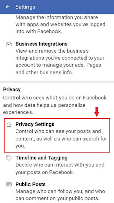 Clicking-on-the-privacy-in-settings-of-facebook-Android