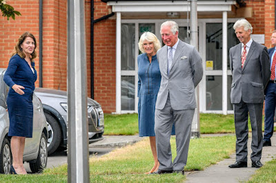 British royals reappear in public for first time since lockdown