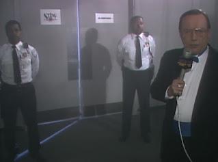 WCW Capital Combat 1990 - Gordon Sollie awaits the arrival of Robocop