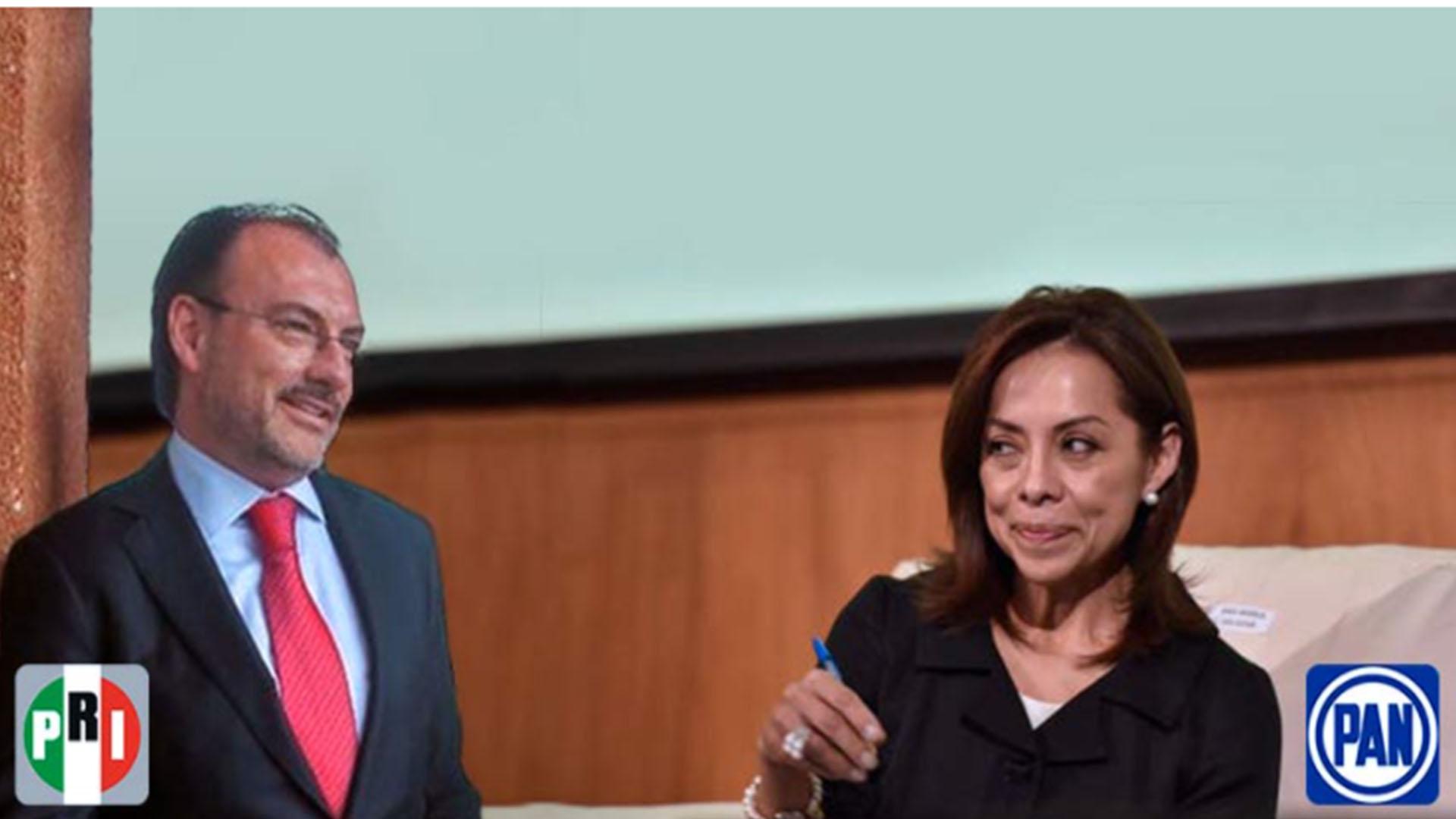 Salió el peine: Videgaray entregó 1.500 MDP en fideicomisos a Vázquez Mota