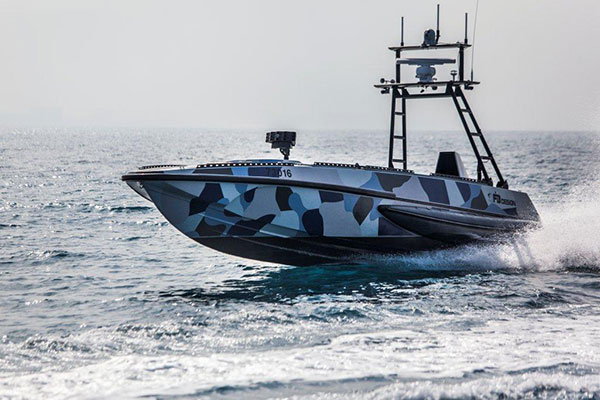 The Katana Unmanned Naval Patrol Vehicle