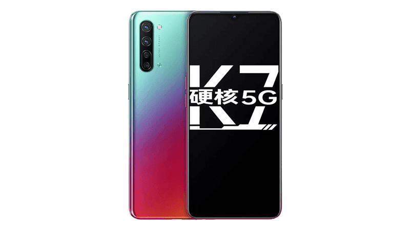 OPPO K7 5G is the newest mid-range 5G phone in China