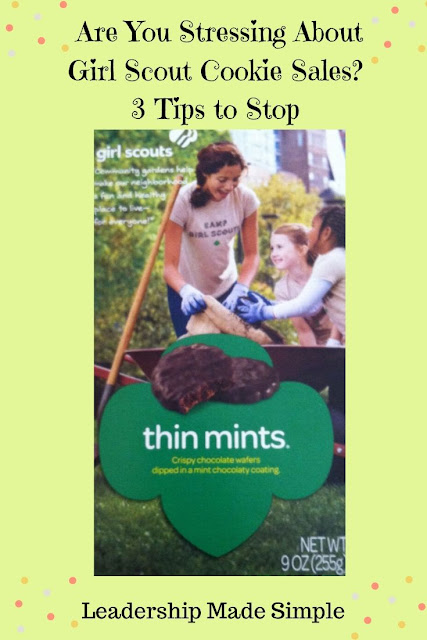 Are You Stressing About Girl Scout Cookie Sales? Don't!