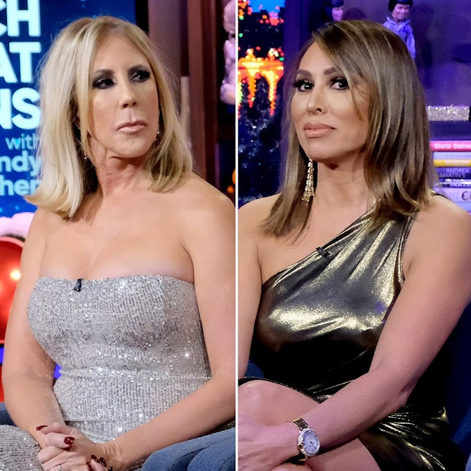 "Vicki Gunvalson Says She's ""Saddened"" To Hear That Kelly Dodd's Mom Is In ICU With COVID And Slams Kelly For ""Making A Complete Mockery Of The Virus""; Says ""What This Comes Down To Is Kelly Is An Absolutely Vile Person"""