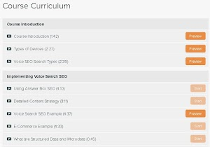 Download Voice SEO Course e-Learning