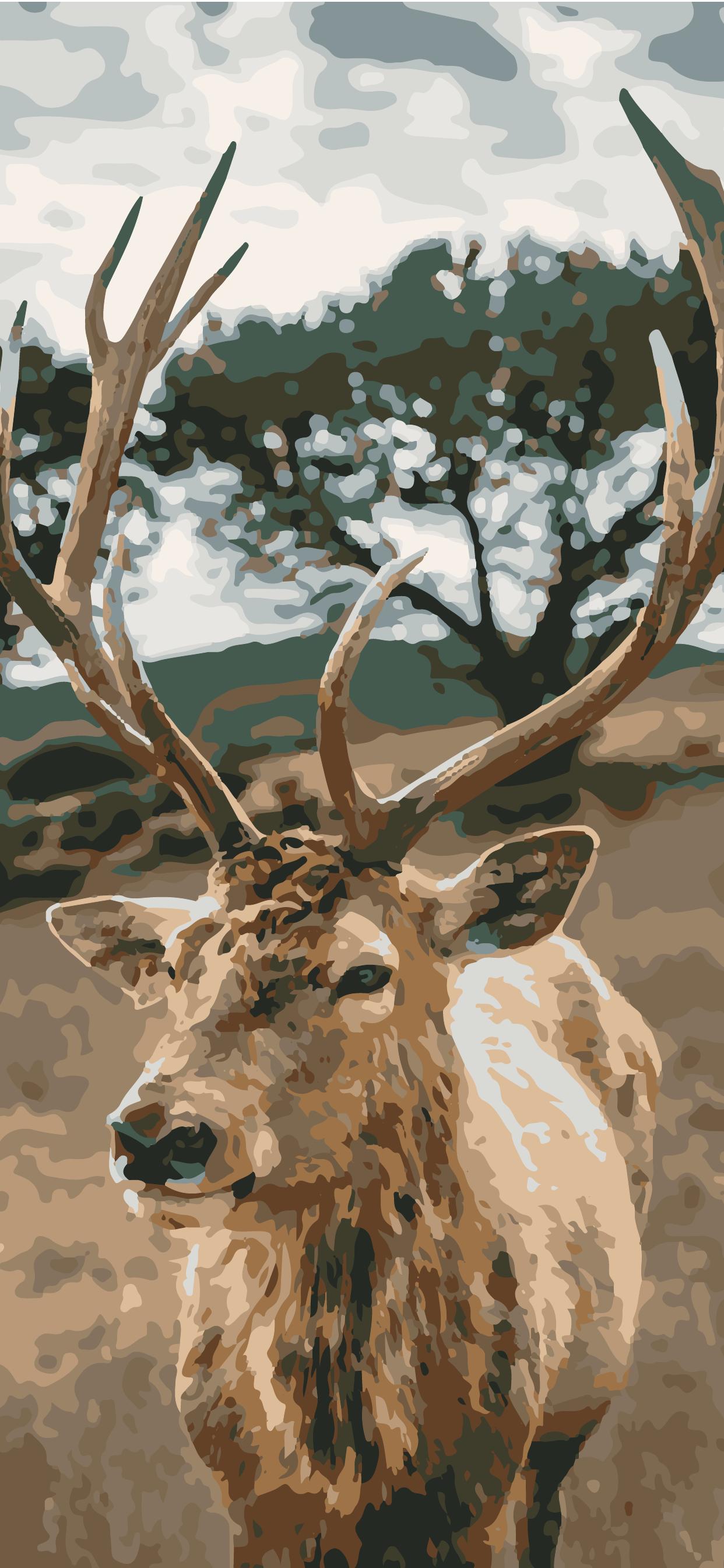deer wallpaper phone hd