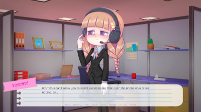 Im Oh So Busy A Week With Yoshimi Game Screenshot 3