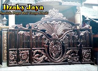 Foto Pintu Pagar Mewah cocok untuk Rumah Mewah