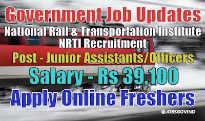 NRTI Recruitment 2020