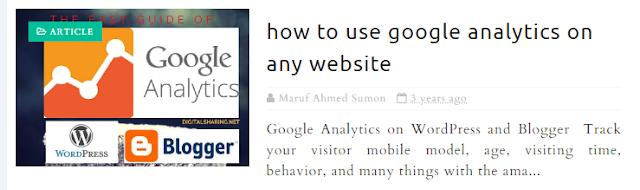 how to use google analytics on any website