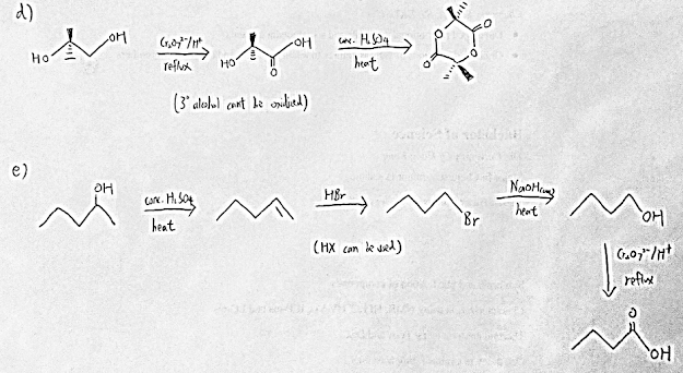 [Answer Key] Chemistry of Carbon Compounds Exercise
