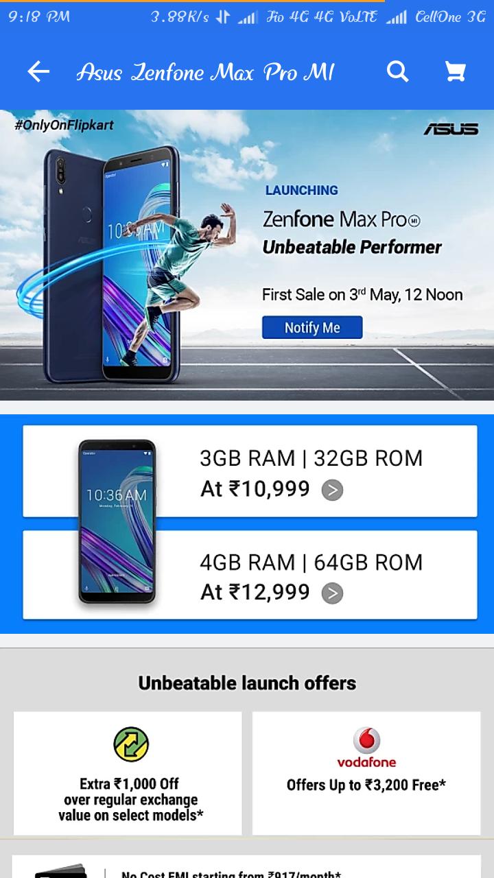 How To Book Asus Zenfone Max Pro M1 Successfully In Flipkart