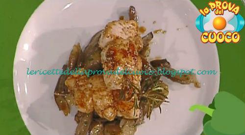 Spiedini di pollo al sesamo con funghi ricetta Scarpa da Prova del Cuoco
