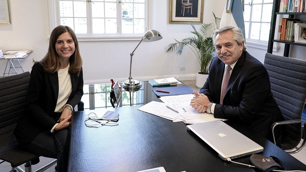 Fernanda Raverta es la nueva titular de la Anses