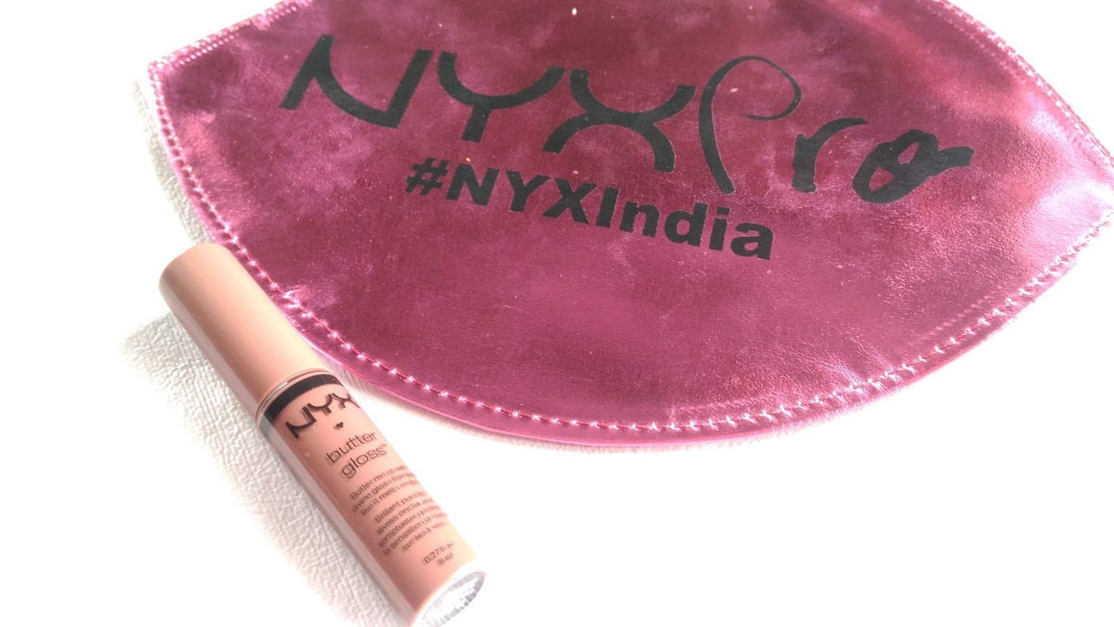 Beauty Beyond Nyx Cosmetics Butter Gloss In Ginger Snap Review