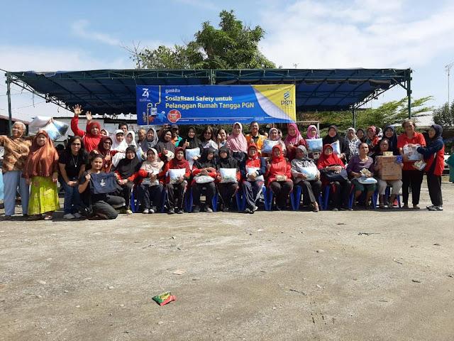 PGN Medan Edukasi Kembali Pelanggan RT