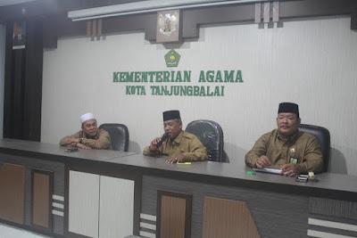 Kakankemenag Tanjungbalai Akui Konsistensi Seluruh Panitia HAB
