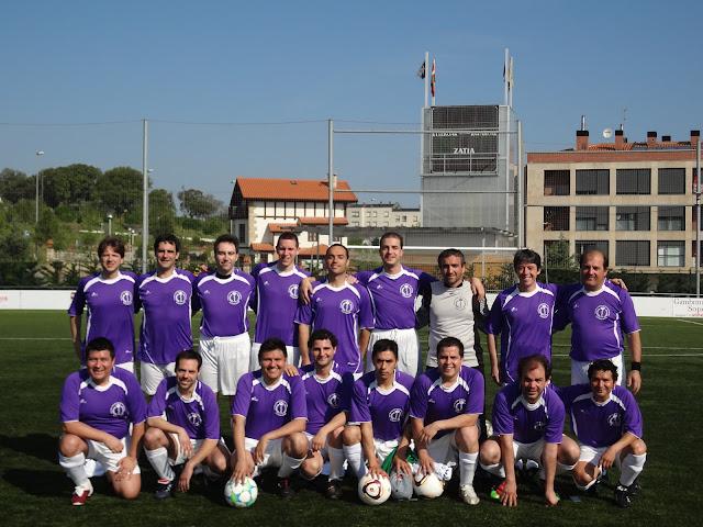 Equipo de fútbol de médicos del hospital de Guadalajara