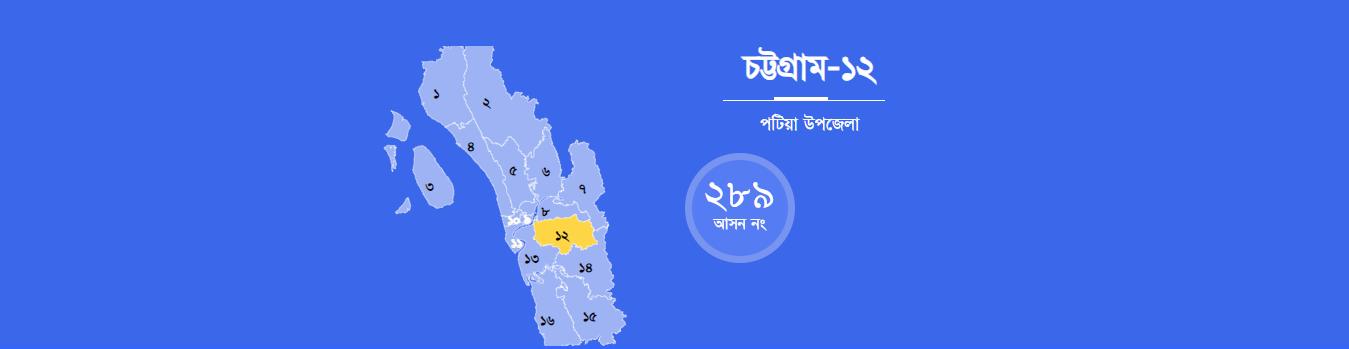 একাদশ জাতীয় সংসদ নির্বাচন-২০১৮ | চট্টগ্রাম-১২ পটিয়া