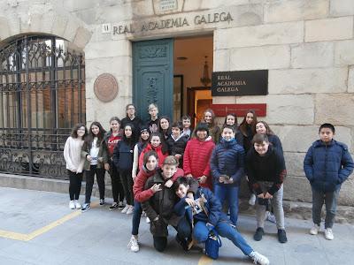 Visita Real Academia Galega e Casa Museo de Emilia Pardo Bazán