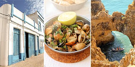 Portugalia Algarve gdzie zjesc