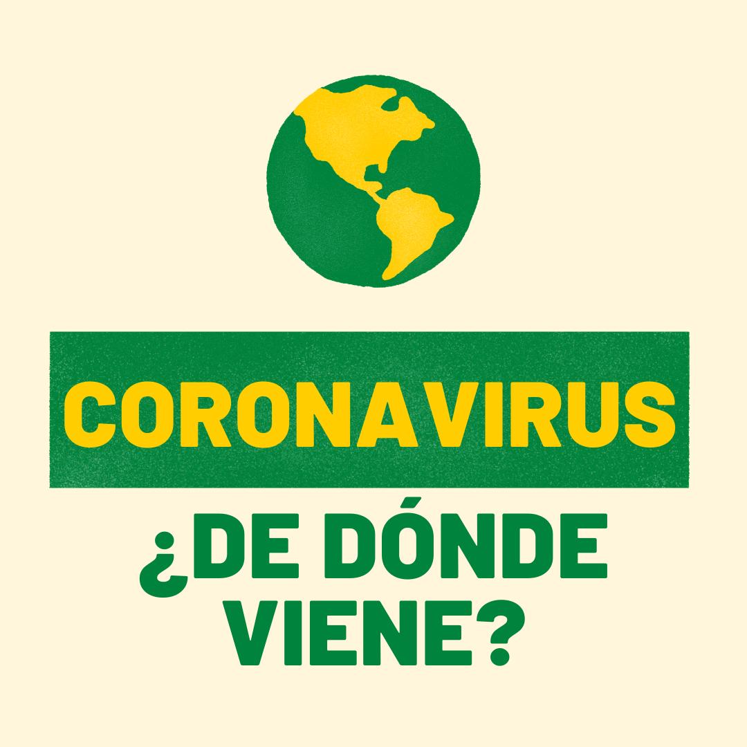 ¿De dónde viene el nuevo coronavirus?