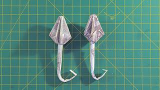 Hướng dẫn cách gấp cây dù bằng tiền giấy